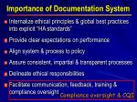 importance of documentation system3