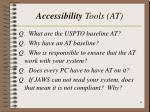 accessibility tools at