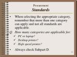 procurement standards1