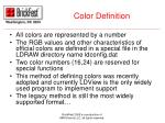 color definition