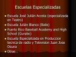 escuelas especializadas1