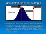 loss distribution an example