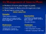 iv management of insects pests