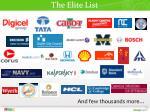 the elite list