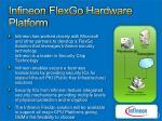 infineon flexgo hardware platform