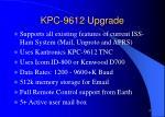 kpc 9612 upgrade