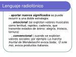 lenguaje radiof nico3