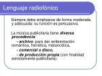 lenguaje radiof nico4