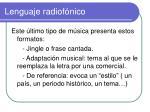 lenguaje radiof nico5