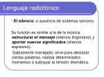 lenguaje radiof nico6