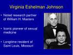 virginia eshelman johnson