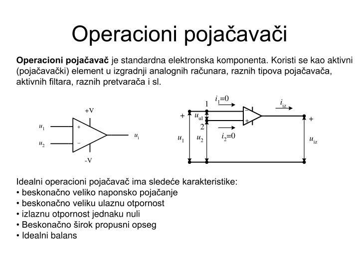 Operacioni pojačavači