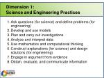dimension 1 science and engineering practices