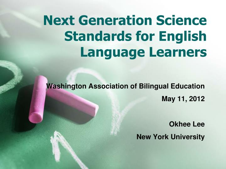 next generation science standards for english language learners n.