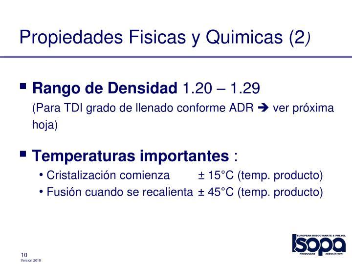 Propiedades Fisicas y Quimicas (2