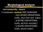 morphological analysis3