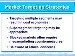 market targeting strategies2