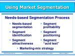 using market segmentation2