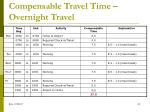 compensable travel time overnight travel4