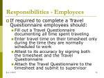 responsibilities employees