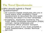 the travel questionnaire3