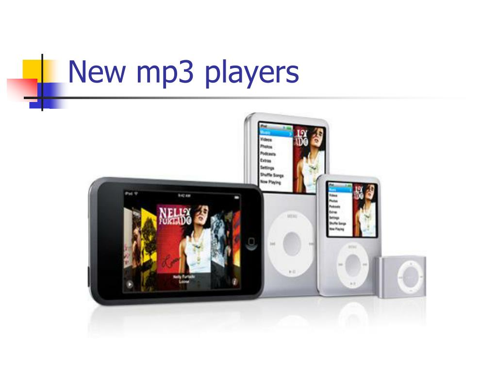 New mp3 players