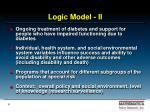 logic model ii
