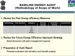baseline energy audit methodology of scope of work6