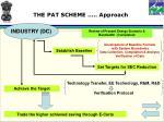 the pat scheme approach