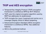 tkip and aes encryption