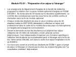 module p2 d1 pr paration d un s jour l tranger