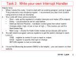 task 2 write your own interrupt handler1