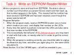 task 3 write an eeprom reader writer