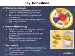 key innovations