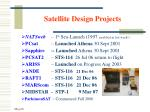 satellite design projects