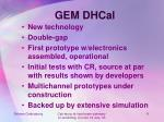 gem dhcal