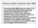 influenza della rivoluzione del 1968