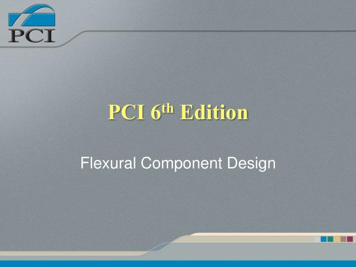 pci 6 th edition n.