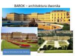 barok architektura dworska2