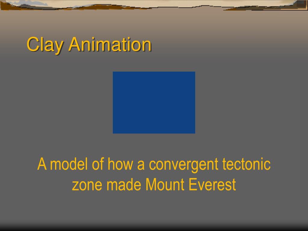 Clay Animation