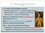 iv charlemagne 742 814