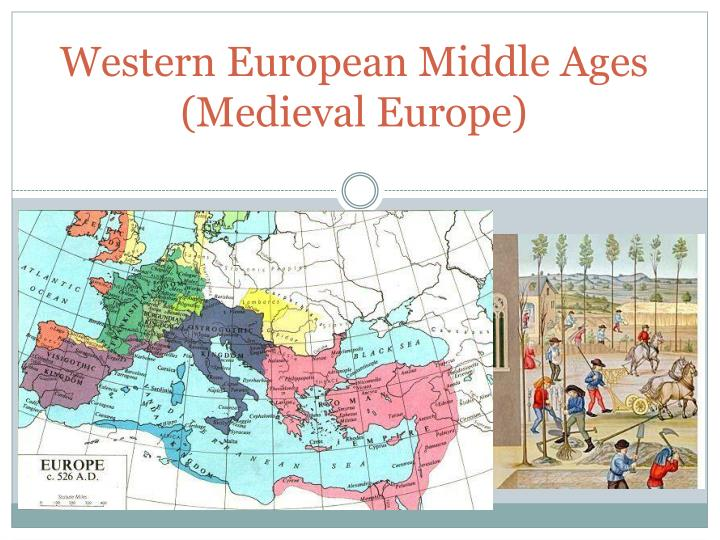 western european middle ages medieval europe n.