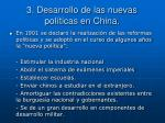 3 desarrollo de las nuevas pol ticas en china