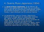 4 guerra ruso japonesa 1904