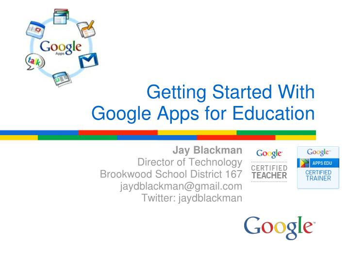 getting started with google apps for education n.