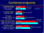 combined endpoints
