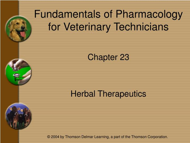 fundamentals of pharmacology for veterinary technicians n.