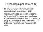 psychologia poznawcza 2