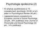 psychologia spo eczna 2