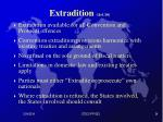 extradition art 16